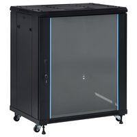 """vidaXL Komunikacijski ormar 18U 19 """" IP20 800 x 600 x 1000 mm"""