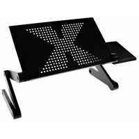 United Entertainment višenamjenski stalak za prijenosno računalo crni