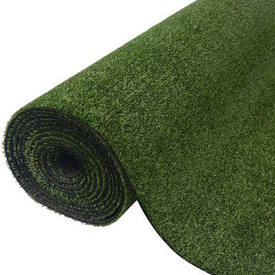 vidaXL Umjetna trava 1,5 x 8 m / 7 - 9 mm zelena