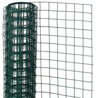 Nature žičana mreža četvrtasta 0,5 x 5 m 13 mm čelična zelena