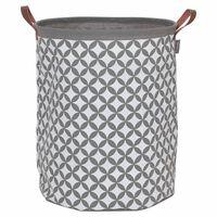 Sealskin košara za rublje Diamonds siva 60 L 362302012