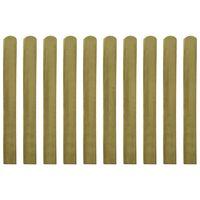 vidaXL Impregnirane letvice za ogradu 20 kom 100 cm drvene