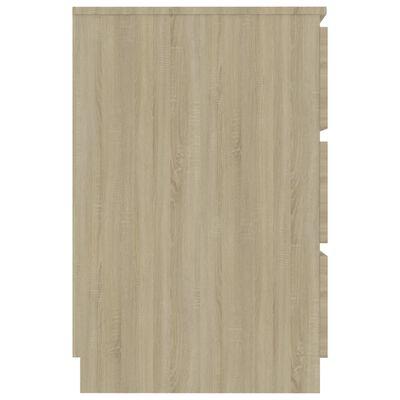 vidaXL Pisaći stol boja hrasta sonome 140 x 50 x 77 cm od iverice