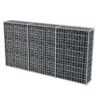 vidaXL Gabionska košara od pocinčanog čelika 200 x 30 x 100 cm