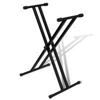 Podesivi nosač klavijatura, X oblik