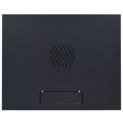 """vidaXL Zidni komunikacijski ormar 6U 19"""" IP20 550 x 450 x 368 mm"""