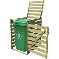 vidaXL Spremište za kantu za smeće 240 L od impregniranog drva