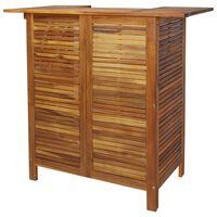 vidaXL Barski stol od masivnog bagremovog drva 110 x 50 x 105 cm