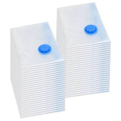 vidaXL Vakuumske vreće za odjeću 120 x 70 cm 50 kom