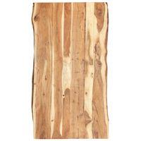 vidaXL Stolna ploča od masivnog bagremovog drva 120 x (50-60) x 3,8 cm