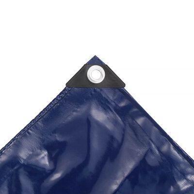 vidaXL Cerada 650 g/m² 3x4 m plava