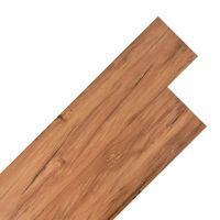 vidaXL PVC podne obloge 5,26 m² 2 mm brijest prirodna boja