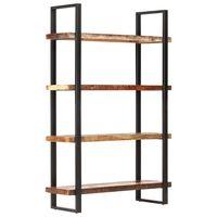 vidaXL Police za knjige s 4 razine 120x40x180 cm od obnovljenog drva