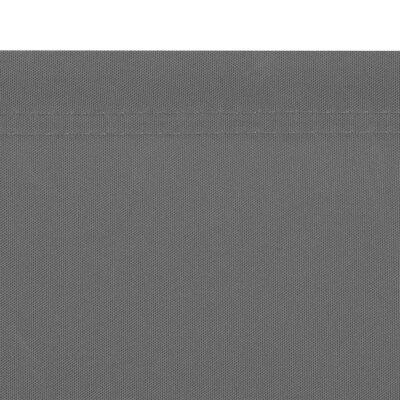 vidaXL Bočna Tenda Uvlačiva 160x600 cm Siva