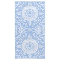 vidaXL Vanjski tepih svjetloplavi 160 x 230 cm PP