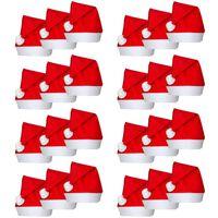 24 Božićne kape u stilu djeda mraza