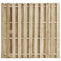 vidaXL Panel za ogradu od impregnirane borovine 180 x 170 cm