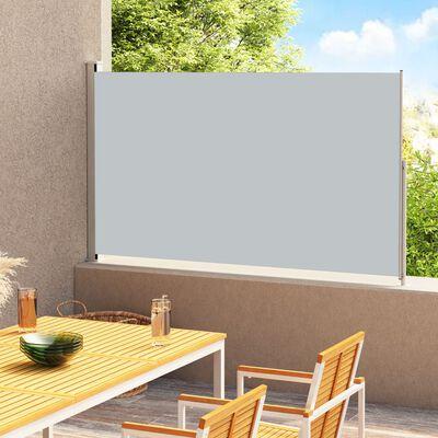 vidaXL Uvlačiva bočna tenda za terasu 180 x 300 cm antracit