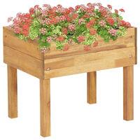 vidaXL Povišena vrtna sadilica 50x40x45 cm od masivnog bagremovog drva