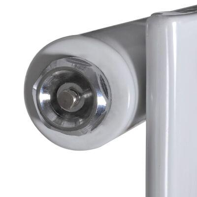 vidaXL Ploča za grijanje bijela 465 x 1500 mm