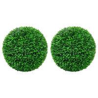 vidaXL Artificial Boxwood Balls 2 pcs 55 cm