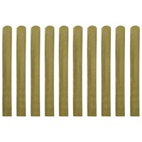 vidaXL Impregnirane letvice za ogradu 30 kom 100 cm drvene