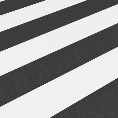 vidaXL Balkonski zastor antracit i bijeli 90x600 cm od tkanine Oxford