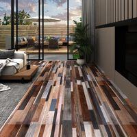 vidaXL Podne obloge od PVC-a 5,02 m² 2 mm samoljepljive raznobojne