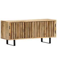 vidaXL TV ormarić od masivnog drva manga 90 x 30 x 40 cm