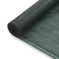 vidaXL Teniski zaslon HDPE 1,8 x 100 m zeleni