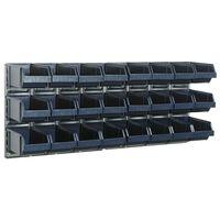 405106 Raaco zidna ploča s 24 spremnika x 2 181228