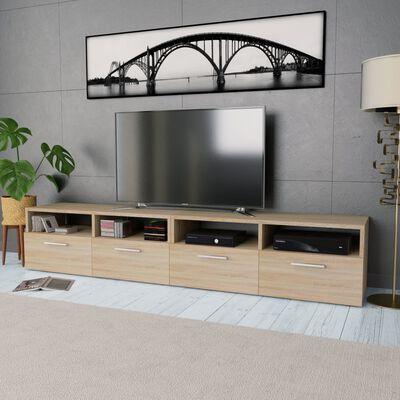 vidaXL TV ormarići od iverice 2 kom 95 x 35 x 36 cm boja hrasta
