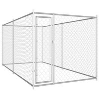 vidaXL Vanjski kavez za pse 382 x 192 x 185 cm