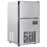 vidaXL Uređaj za pravljenje kocki leda 420 W 50 kg / 24 h
