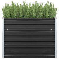 vidaXL Vrtna sadilica antracit 100 x 40 x 77 cm od pocinčanog čelika