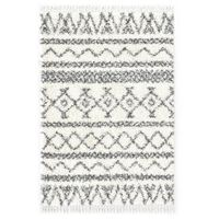 vidaXL Čupavi berberski tepih PP bež i sivi 160 x 230 cm