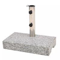 vidaXL Stalak za Suncobran Granit Pravokutni 25 kg