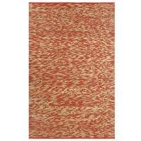 vidaXL Ručno rađeni tepih od jute crvene i prirodne boje 120 x 180 cm