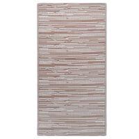 vidaXL Vanjski tepih smeđi 190 x 290 cm PP