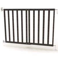 Noma produžna sigurnosna ograda 63,5 - 106 cm drvena siva 94146