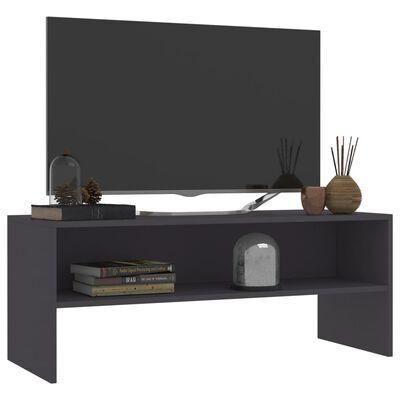 vidaXL TV ormarić od iverice sivi 100 x 40 x 40 cm