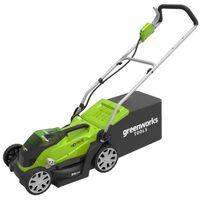 Greenworks kosilica za travu s baterijom 2 x 40 V 2 Ah G40LM35
