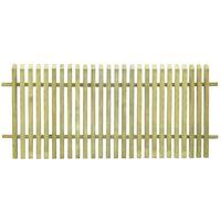 vidaXL Vrtna ograda od impregnirane borovine 170 x 75 cm
