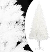 vidaXL Umjetno božićno drvce s realističnim iglicama bijelo 240 cm