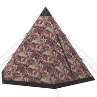 vidaXL Šator za 4 osobe raznobojni