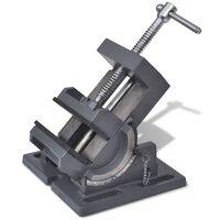 vidaXL Ručna nagibna stega za bušilicu 110 mm