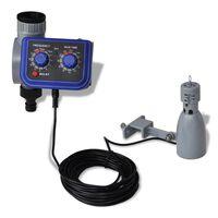 Tajmer za automatsko navodnjavanje s jednostrukim izlazom i senzorom za kišu