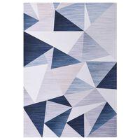 vidaXL Tepih s uzorkom raznobojni 160 x 230 cm od tkanine