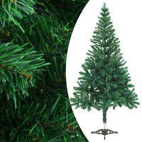 vidaXL Umjetno božićno drvce sa stalkom 150 cm 380 grana