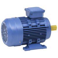 vidaXL Trofazni električni motor aluminijski 1,5 kW / 2 KS 2840 o/min